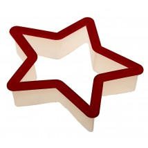 Пластиковая вырубка «Звезда»