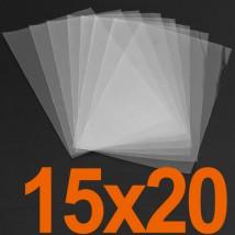 Полипропиленовые пакетики — 15x20, 20 мкм — 100 шт.