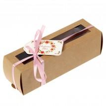 Коробка для макарун с шильдиком «Особенный день» (для 6 шт.)